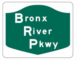 Bronx River Parkway Sticker R1900 Highway Sign Road Sign - $1.45+