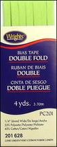 """Wrights ¼"""" Double Fold bias tape PC 201 - New in package - 3 Lime 201 628 - $5.95"""