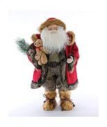 Katherine's Collection Aspen Santa with Bear - $149.99