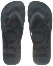 Hugo Boss Men's Wave Thong Digital Rubber Beach Pool Flip Flops Sandals 50388497 image 11