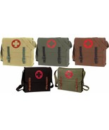 Nato Red Cross Medic Vintage Canvas Military Shoulder Bag - $13.99+