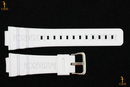 16mm Fits CASIO DW-6900 G-Shock White (Matte) Rubber Watch BAND DW-6900B... - $20.80