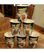 Pittsburgh Penguins Hockey Beverage Cup Set Malkin Letang 2011 Dairy Que... - $98.95