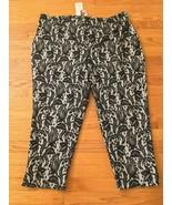 NWT Karen Kane Boho Blush BOW Lace Capri Pants MSRP $138 - $46.52
