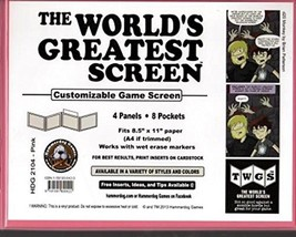 World's Greatest Screen, The - Pink (Landscape) - $28.76