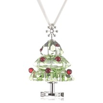 NIB Swarovski Crystal Christmas Tree Ornament 904990 - $89.99