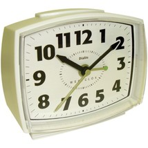 Westclox 22192 Electric Alarm Clock with Constant Lighted Dial - $28.85