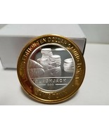 Sam's Town ~ Black Jack~Limited Edition~10 Dollar Gaming Token~ .999 FS ... - $28.50