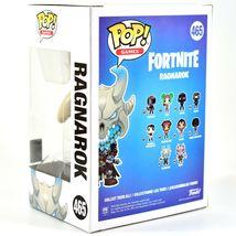 Funko Pop! Games Fortnite Ragnarok #465 Vinyl Action Figure NIB IN HAND image 3