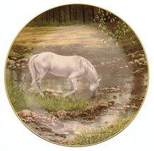 Danbury Mint Steams Edge Donald W Patterson Horse Plate HJ326 - $43.32