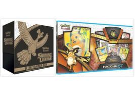 Pokemon Shining Legends Raichu GX Collection Box and Elite Trainer Box B... - $89.99