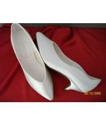 Fantura White Satin Bridal Shoes-Dye-able NWB - $25.83