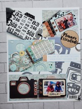 Camera Die Set. Elizabeth Craft Designs. Mini Album  image 6