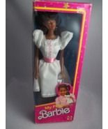 My First African American 1984 Easy-to-dress Barbie-Mattel#9858-NIB - $30.99