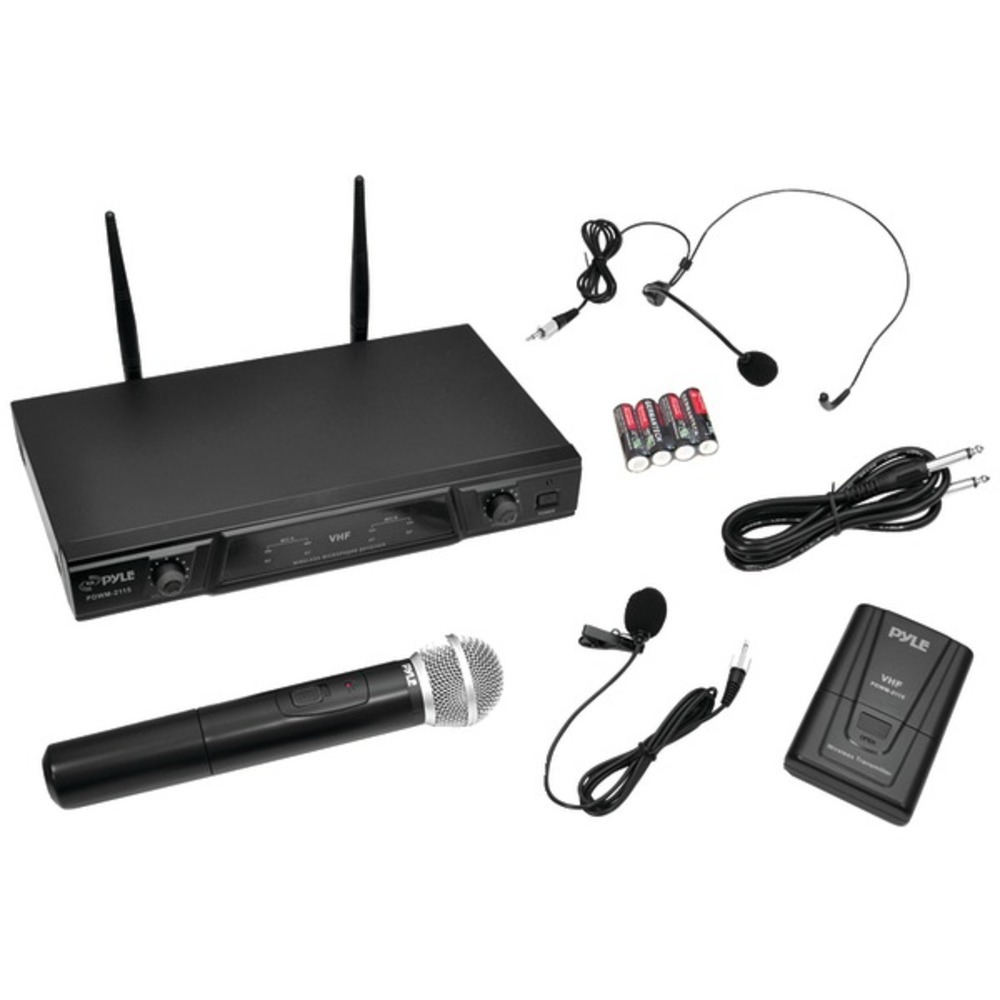 Primary image for Pyle Pro PDWM2115 VHF Wireless Microphone Receiver System with Independent Volum