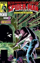 Peter Parker The Spectacular Spider Man #131 Part 3 Of 6 (1987 Marvel) C... - $9.89