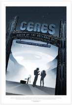 Nice NASA Visions of the future Ceres Poster - $39.00