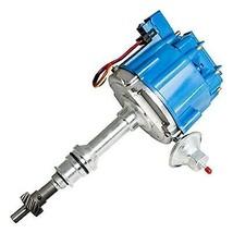 BIG BOCK FORD BBF 351C 351M 429 460 BLUE HEI Distributor + 8mm SPARK PLUG WIRES image 2