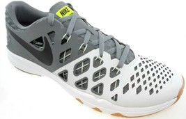 NIKE TRAIN SPEED 4 MEN'S WHITE/GREY/BLACK TRAINING SHOES, #843937-005 - $53.39