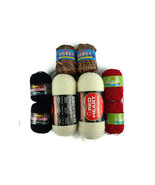 Lot of Yarn 8 Spools Red Heart No Dye Plus Various Rayon - $28.02