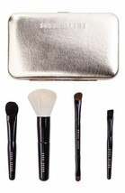 Bobbi Brown Old Hollywood Collection Travel Make Up Brush Set GOLD Case ... - $71.14