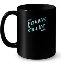 My Foams Be Killin Island Green Sneaker Ceramic Mug Foamposites - $13.99+