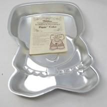 NEW NOS 1978 Wilton Aluminum Cake Pan Ziggy Cartoon Character #502-7628 Insert - $19.75