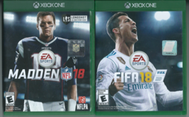 FIFA Soccer 18 & Madden NFL 18 (Microsoft Xbox One, 2017) ⚽ - $9.46