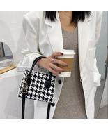 Retro Plaid Crossbody Handbag Totes For Women PU Leather HOT - £21.94 GBP