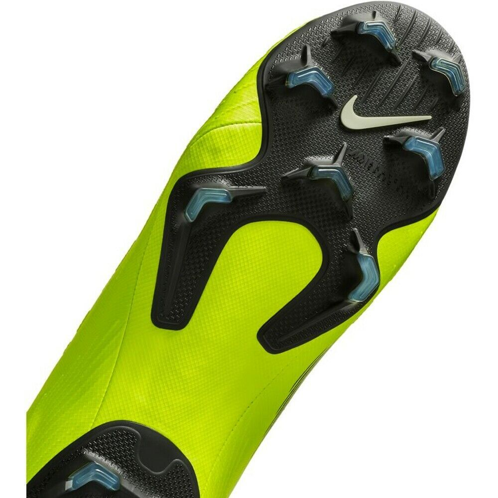 NIKE MERCURIAL SUPERFLY 6 PRO FG VOLT/BLACK SIZE 8.5 BRAND NEW (AH7368-701) image 7