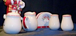 anta and 5 Piece Winter Wishes Table Set AA19-CD0052 Vintage image 8