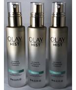 Lot 3 Olay Mist Ultimate Hydration Essence Calming Aloe Leaf Chamomile 3... - $17.70