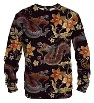 Japan Dragon Cotton Printed Sweatshirt | Unisex | XS-2XL | Mr.Gugu & Miss Go