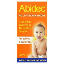 6 x Abidec Multivitamin Drops for Babies & Children 25ml by Abidec - $73.50