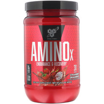 BSN AMINOx Endurance & Recovery STRAWBERRY DRAGONFRUIT 30 servings Exp. ... - $38.77