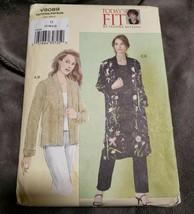 Vogue V8089 Sandra Betzina Reversible Kimono Jacket Variations Bust Sz 4... - $18.68