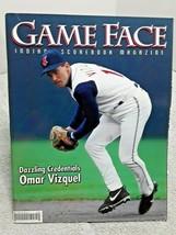 2002 Cleveland Indians Game Face Program Magazine Omar Vizquel C Manuel - $4.99