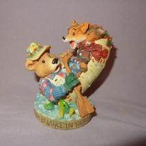 "Moose Creek Crossing Find Balance Your Life Figurine 3"" Enesco 1995 Bear... - $15.99"