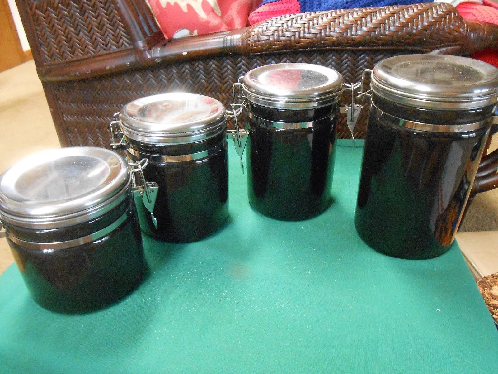 Great Alco Industries 4 Piece Ceramic Black and 50 similar items