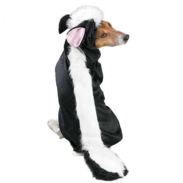 Primary image for Lil' Stinker Skunk Dog Halloween Costume Pet Outfit Stripes