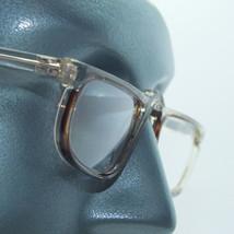 Half Eye Reader Crystal Gray Tint Frame Reading Glasses Lo Profile +1.00 Lens - $19.00