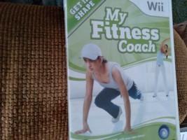 Nintendo Wii My Fitness Coach image 1