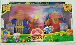 DAM Totally Trolls King Azul Queen Ruby Baby Boxed Set Passport Playmate... - $45.52