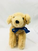 Curto Kids Plush Toy Stuffed Dog Animal Plush Beige Custom  - $15.32