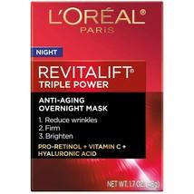 L'Oreal Paris Revitalift Triple Power Intensive Overnight Mask 1.7 Oz by... - €11,63 EUR