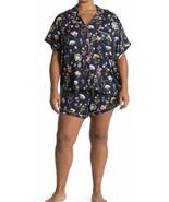 Women's PJ Salvage 2 Piece Pajama Set Floral Dreams Shirt & Shorts Plus ... - $31.79