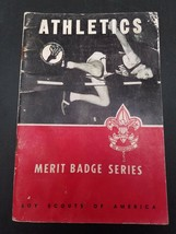 Boy Scouts of America Merit Badge Series Athletics Booklet 1958 Vintage - $7.42