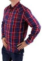 Levi's Men's Long Sleeve Button Up Casual Dress Shirt Red 3LYlW0042 image 4