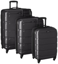 Travel Luggage Samsonite Omni PC Hardside Spinner  20 24 28,  Black  3 P... - $318.28