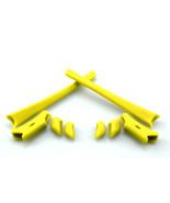 Replacement Rubber Kit for Oakley Flak Jacket Sunglass Earsocks Nosepads Yellow - $10.78